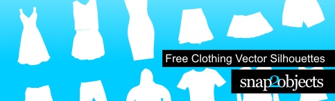 Clothing Vector Silhouettes