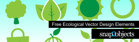 Ecological Vector Design Elements