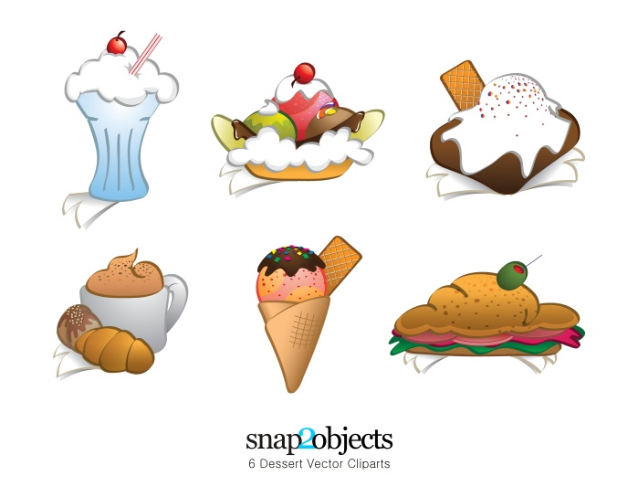 free clipart images desserts - photo #3