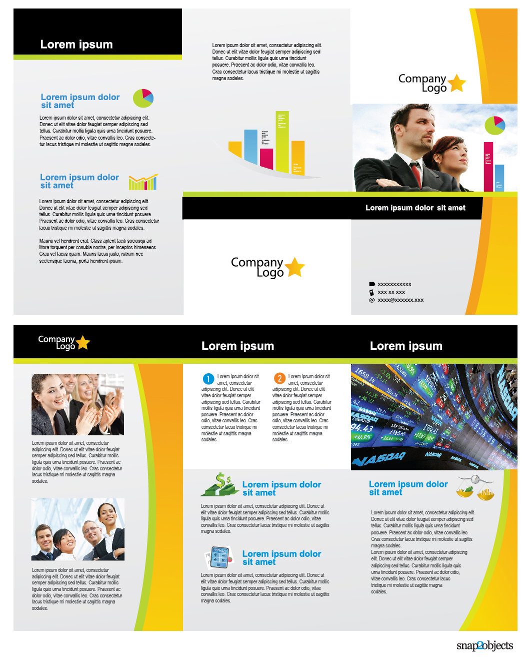 Brochure templates free cheaphphosting Image collections