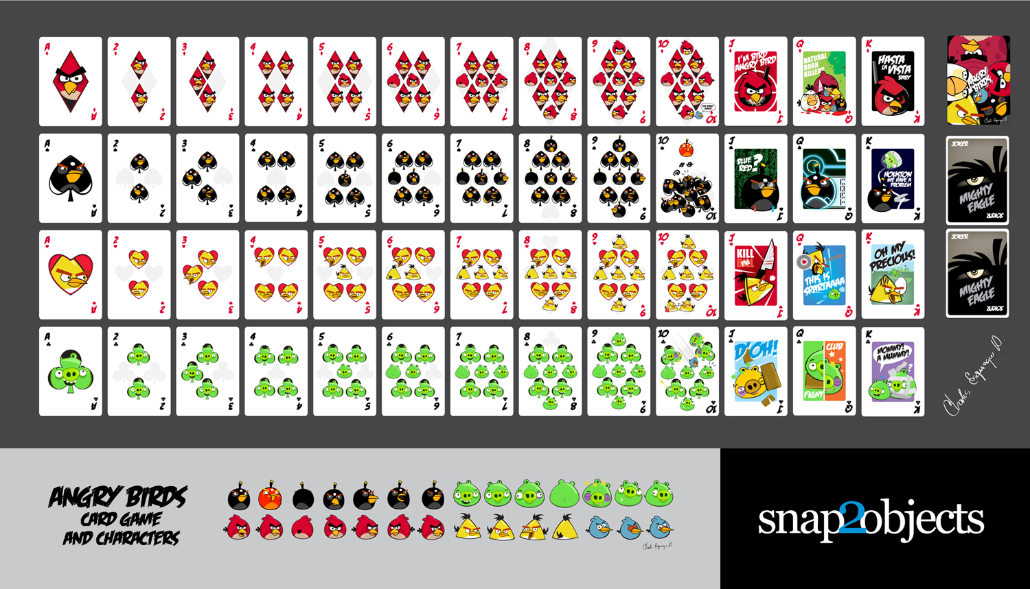 Playing Card Designs Pinterest