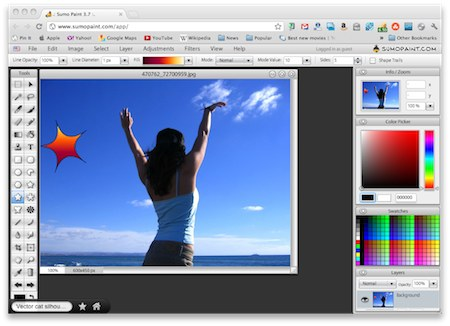 Sumo paint free for Paint software online