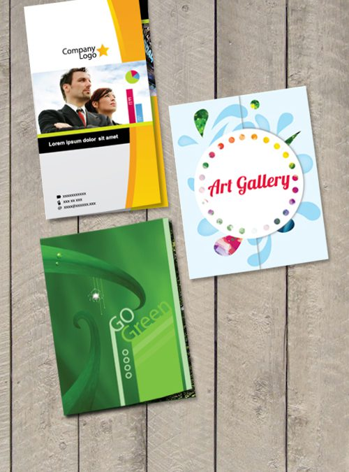 3 Brochures Templates in Illustrator