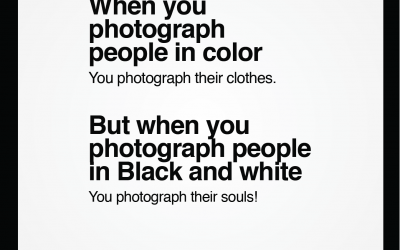 Color Vs Black and white
